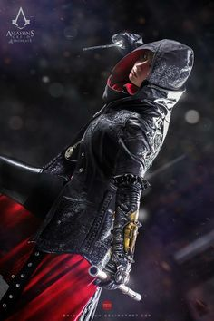 Watch out cuz here comes motherfucking Evie Frye, Queen of the Assassins