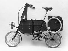 The Dutch manufacturer Fongers supplied bikes to the Netherlands' army. A folding small-wheeler for the military (1909)