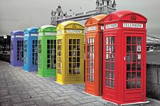 black and white london with a splash of colour - Google Search