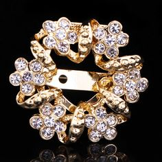 Find More Brooches Information about 33*33mm handmade Bauhinia flower vintage brooch color rhinestone brooches for women diy Fashion Jewelry breastpin brooch pins,High Quality brooch back,China brooch box Suppliers, Cheap brooch supplier from Playful beauty department store on Aliexpress.com