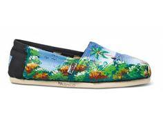 16ad0d4dda1 Black Maikenley s Ocean View Haiti Artist Collective Women s Classics  toms  Short Heels