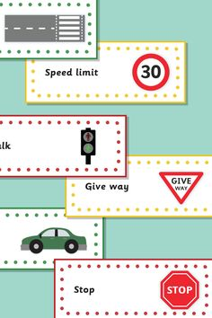 Road Safety Topic Labels