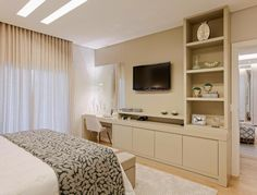 Design Of Bedroom Cabinet . Design Of Bedroom Cabinet . A Modern Tailored Home by Wendy Labrum Apartment Design, Home Bedroom, Bedroom Design, Tv In Bedroom, Home Decor, Bedroom Inspirations, Modern Bedroom, Interior Design, Interior Design Bedroom