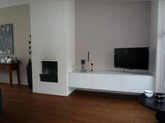 1000 images about open haard on pinterest tvs living rooms and wands - Deco moderne open haard ...