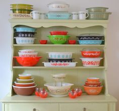 Holiday Pyrex by hkatee, via Flickr