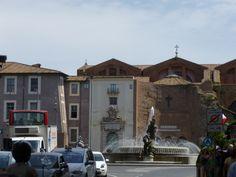 Basilica Santa Maria degli Angeli e dei Martiri.  Piazza della Reppublica