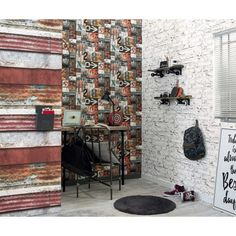 Papier Peint Brique Vieillie Les Aventures De Lutece Ref Ltc