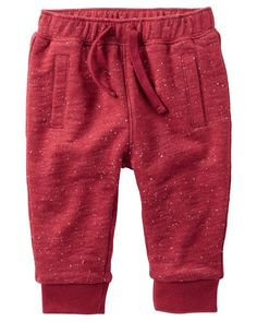 Baby Boy Jersey-Lined French Terry Pants from OshKosh B'gosh. Shop clothing & accessories from a trusted name in kids, toddlers, and baby clothes.