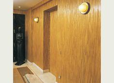 Lison de Caunes - Straw marquetry entrance