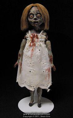 Sally - Zombie Art Doll | Flickr - Photo Sharing!