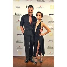 April 13, 2015 - Max & Meryl at Figure Skating Harlem - Maks writes: A waaaaaay more appropriate outfit for the red-carpet event (ballroom style) Always a pleasure dancing with @meryledavis and a bonus of supporting @FSinHarlem