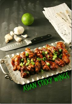 #LowCarb #SlowCooker These Asian Sticky Wings are short on prep time and big on flavor.  They are bold, savory and sweet all at the same time.  Oh and they are low-carb.. bonus! - Asian Sticky Wings - Yours And Mine Are Ours