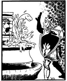 A water weird comes from the elemental plane of water to feed on the essences of living beings. (David Sutherland, AD&D Monster Manual, TSR, 1977.)