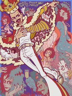 Freedy Mercury, Beatles, Queen David Bowie, Queen Anime, Armadura Cosplay, Queen Drawing, Queen Ii, Band Wallpapers, Queen Photos
