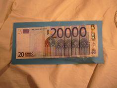 1. 20.000 Euro Schein