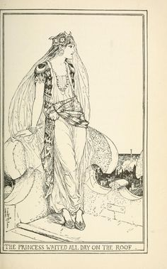 The Pink Fairy Book - Illustrations by Henry Justice Ford