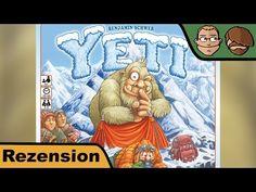 Yeti – Brettspiel – Spiel – Board Game – Review #154 | Hunter & Cron