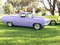 1966 Holden HR Utility Engineered 355 V8 9 inch glide Drag Show EH FC FJ HQ HK