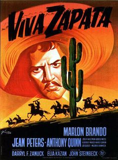 "Anthony Quinn: ""Viva Zapata!"" 1952.."