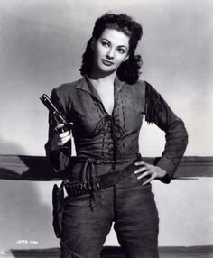 Yvonne De Carlo ... I'll take a bullet for you anytime!
