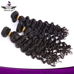 Wholesale mink brazilian hair virgin hair deep wave grade n virgin hair