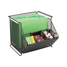 Safco Products 2164BL Onyx Mesh Stackable Storage Bins, Black Safco Products http://www.amazon.com/dp/B00GQXISPY/ref=cm_sw_r_pi_dp_95Afxb1CH40CW