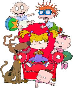 Chuckie, Phil, Tommy, Angelica, Lil and Spike