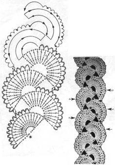 Con el crochet ruso puedes hacer lo que quieras incluso una blusa.           Miren latécnicausada. Con un padrón a tamañ...