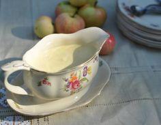 Ainoa oikea vaniljakastike – Kivistössä Gravy, Baking, Sweet, Candies, Ideas, Candy, Salsa, Bakken, Thoughts