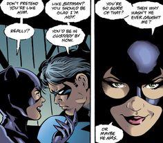 """mostingeniusparadox: """"Nightwing #52 """""""