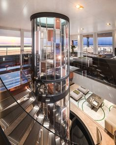 Dream House Interior, Luxury Homes Dream Houses, Dream Home Design, Modern House Design, Modern Mansion Interior, Modern Architecture House, Classical Architecture, Luxury Apartments, Luxury Penthouse