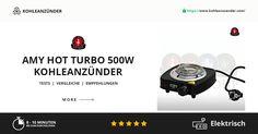 AMY Deluxe Hot Turbo 500W Kohleanzünder: Ausführliche Informationen zu dem Kohleanzünder Hot Turbo SX-A500 von dem Hersteller AMY Deluxe finden Sie auf unserer Homepage.