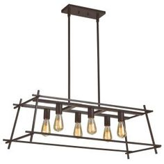 Simple straight-line design recreates the structure of a chic hashtag in the Varaluz Hashtag 6 Light Linear Pendant . The minimalistic metal construction. Kitchen Island Lighting, Kitchen Lighting Fixtures, Ceiling Light Fixtures, Ceiling Lights, Linear Pendant Lighting, Linear Chandelier, Light Pendant, Bronze Pendant, Kitchen Models