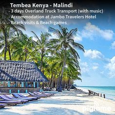 Enjoy a city tour in the coast  drive as you enjoy the best sea view & breath taking breeze from the sea.  #tembeaKenya #Malindi #holiday. Visit our website to book your spot.