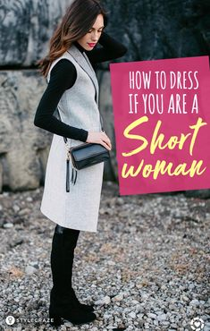 Outfit Ideas For Short Girls - How To Dress If You Are A Petite Or A Short Woman fashion fashiontips 617415430143799550 Dress For Petite Women, Fashion For Petite Women, Petite Fashion Tips, Petite Outfits, Petite Dresses, Dress For Short Women, Womens Fashion, Dresses For Petites, Petite Clothes