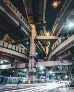 Underneath the highways in Tokyo, Japan City Landscape, Urban Landscape, Urban Photography, Street Photography, Travel Photography, Ing Civil, City Aesthetic, Night City, Photo Reference