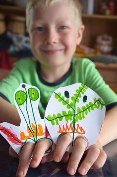 Finger Leg Puppets - picklebums.com