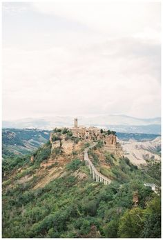 travel photography of the ancient village of Civita di Bagnoregio in Umbria, Italy