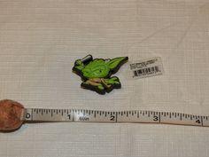 jibbitz SAP STW Yoda F15 shoe charm 3000011-02534-0001 NEW Star Wars crocs #Jibbitz