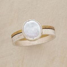 Riches pearl ring.