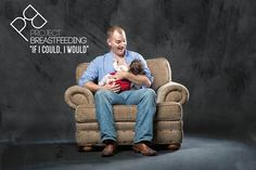Dads breast-feeding their babies? Gender-bending photos aim to show support