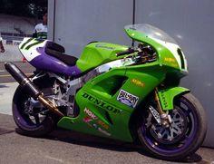 Anthony Gobert Muzzy's Kawasaki World Superbike.