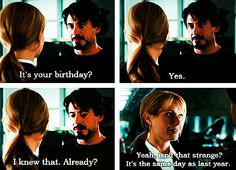 """I'm allowed to have plans on my birthday.  (Pepper Potts, """"Iron Man"""")"""