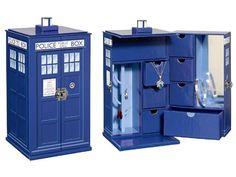 Doctor Who TARDIS Jewelry Box - Doctor Who Novelties & Electronics
