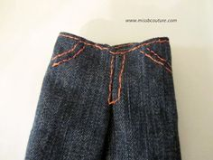 Jeans Pattern for Ken doll and other great ken patterns on this blog!
