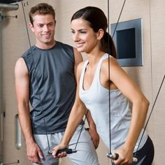 Learn the advantages of working out with a personal trainer. See how having a personal guide will help you stay focused, motivated and fit.