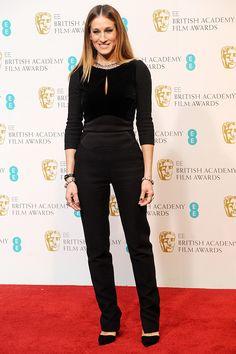 В Elie Saab на BAFTA 2013, Лучшие выходы в свет Сары Джессики Паркер
