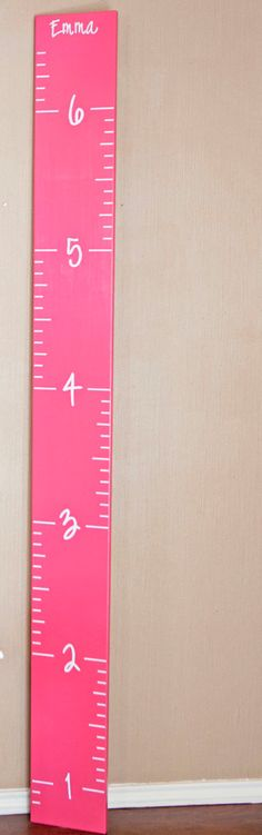 Growth Chart Ruler On Pinterest Growth Charts Wooden