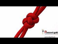 Fixing a broken zipper with paracord- extended Matthew Walker knot - YouTube