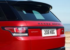 2016 Land Rover Range Rover Sport HST Tail Lamp